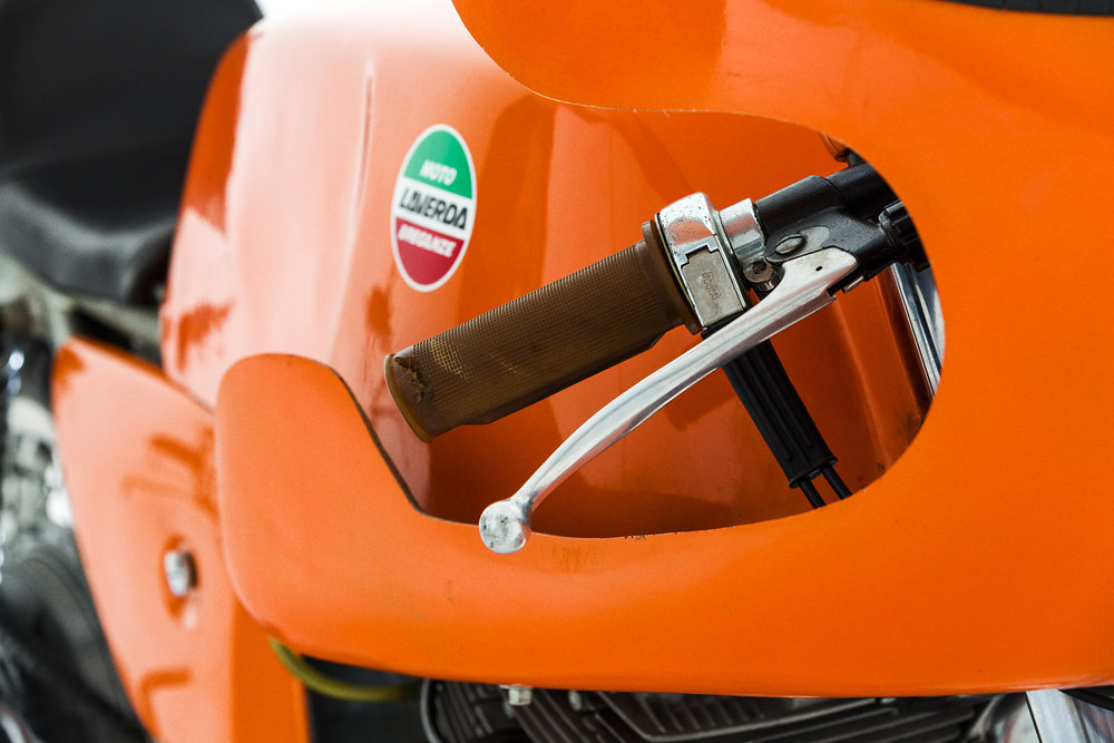 1972 Laverda SFC Grip Clip On