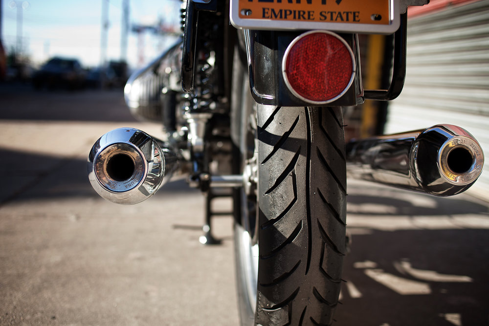 BMW R90 Exhaust