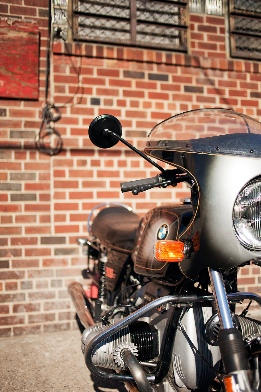 BMW R90 Headlight