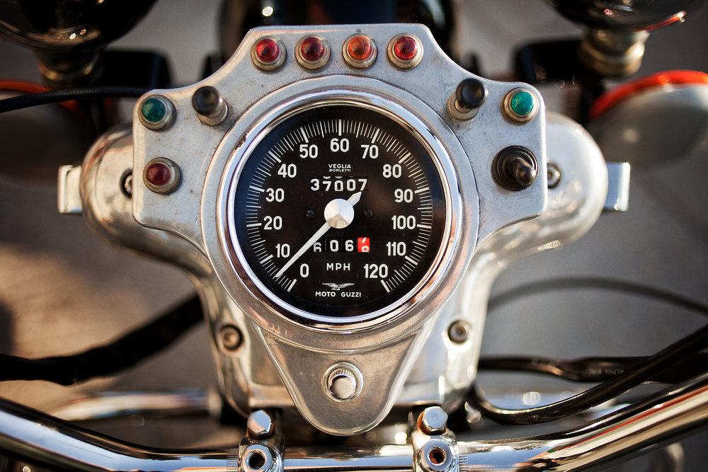 Moto Guzzi Eldorado Gauge