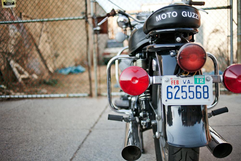 Moto Guzzi Eldorado Exhaust