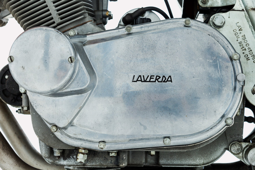 1972 Laverda SFC Case Cover