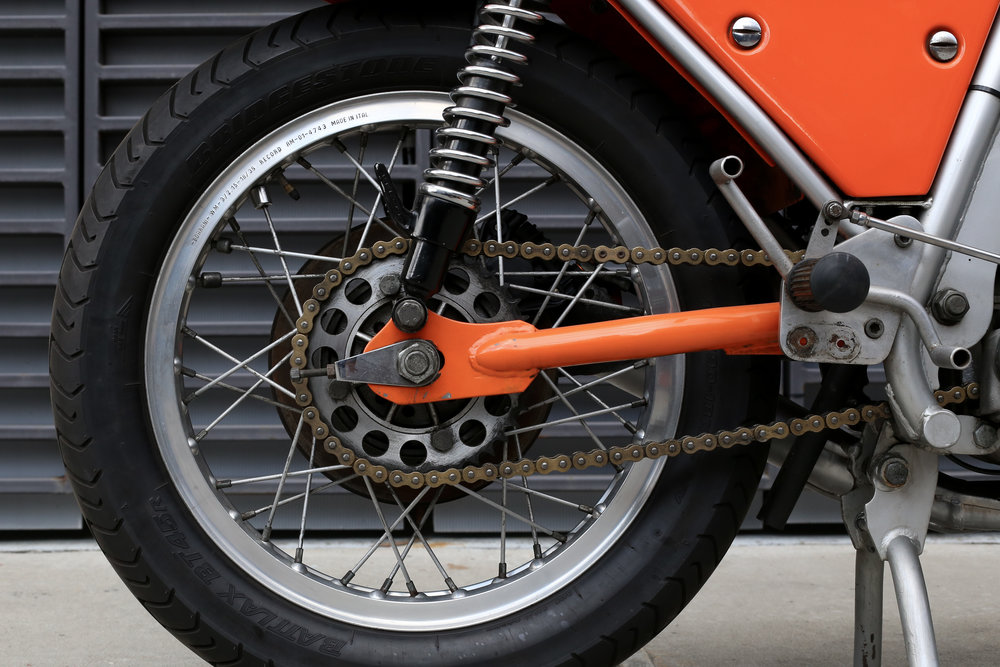 1974 Laverda SFC Rear Wheel
