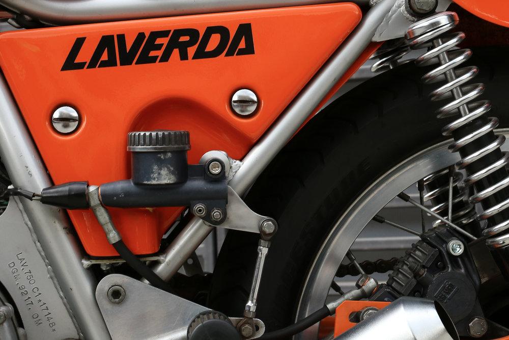 1974 Laverda SFC rear brake