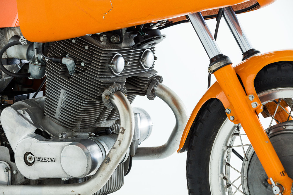 1971 Laverda SFC Exhaust