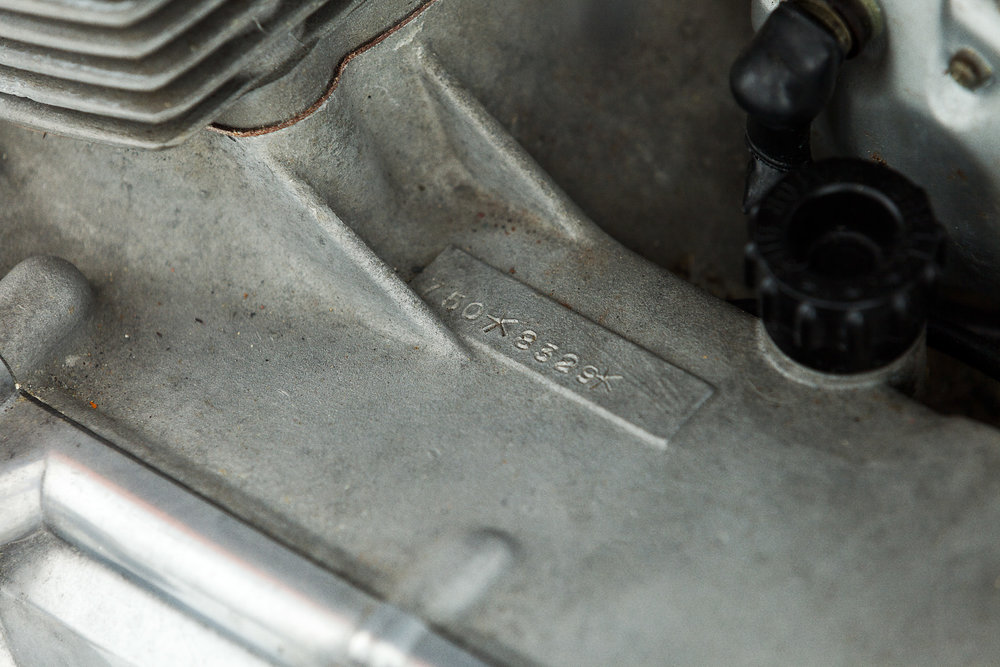 1971 Laverda SFC case engine number