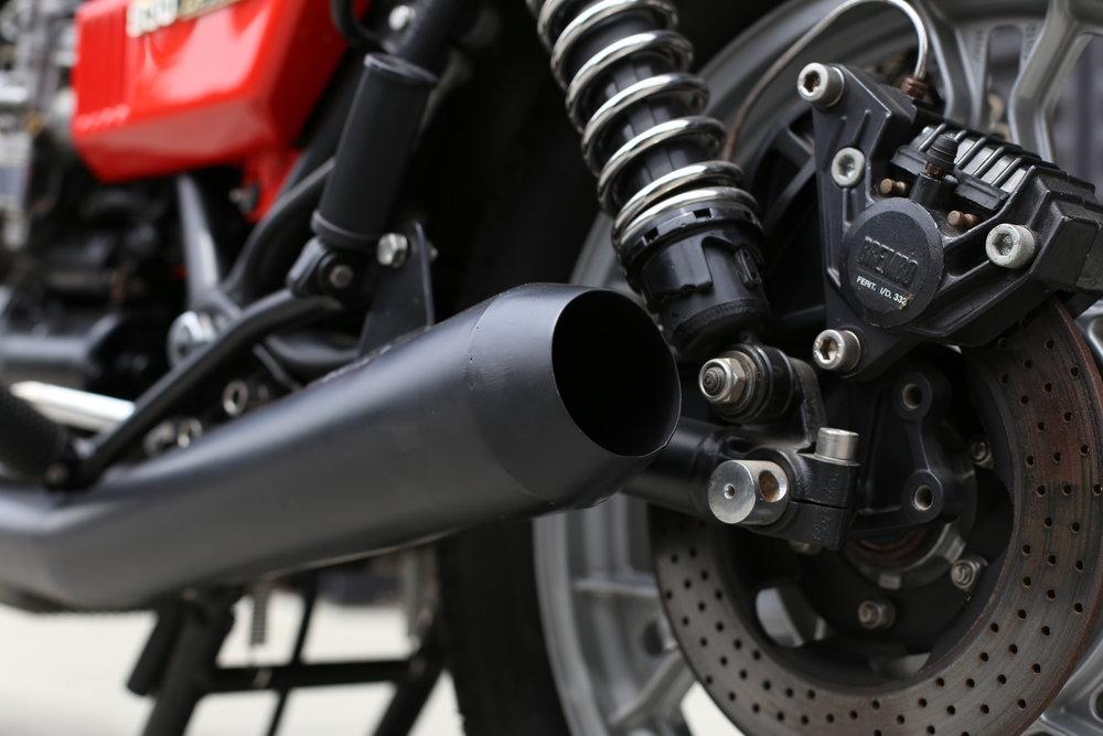 1976 Moto Guzzi Lemans 1 Factory Race Exhaust