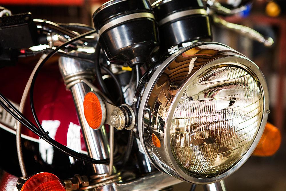 1974 Ducati 750 GT Headlight