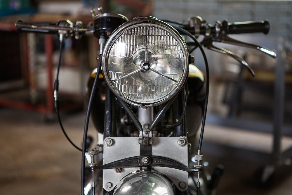 1954 Vincent Rapide Headlight