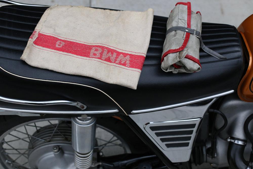 1973 BMW R75/5 toaster Tank Tool Roll