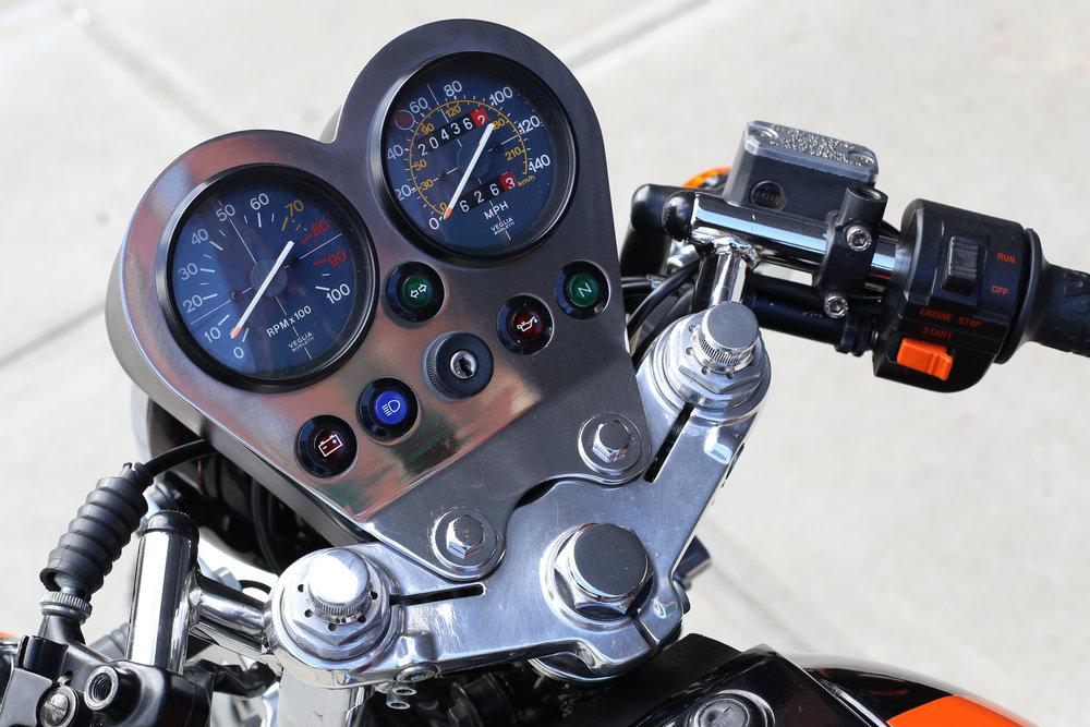 Moto Guzzi 1000S Dashboard Speedo Tachometer