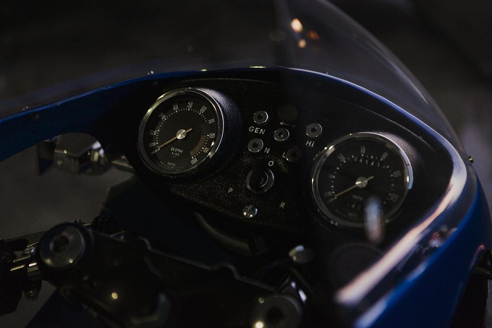 1977 Ducati 900SS Gauges Cockpit