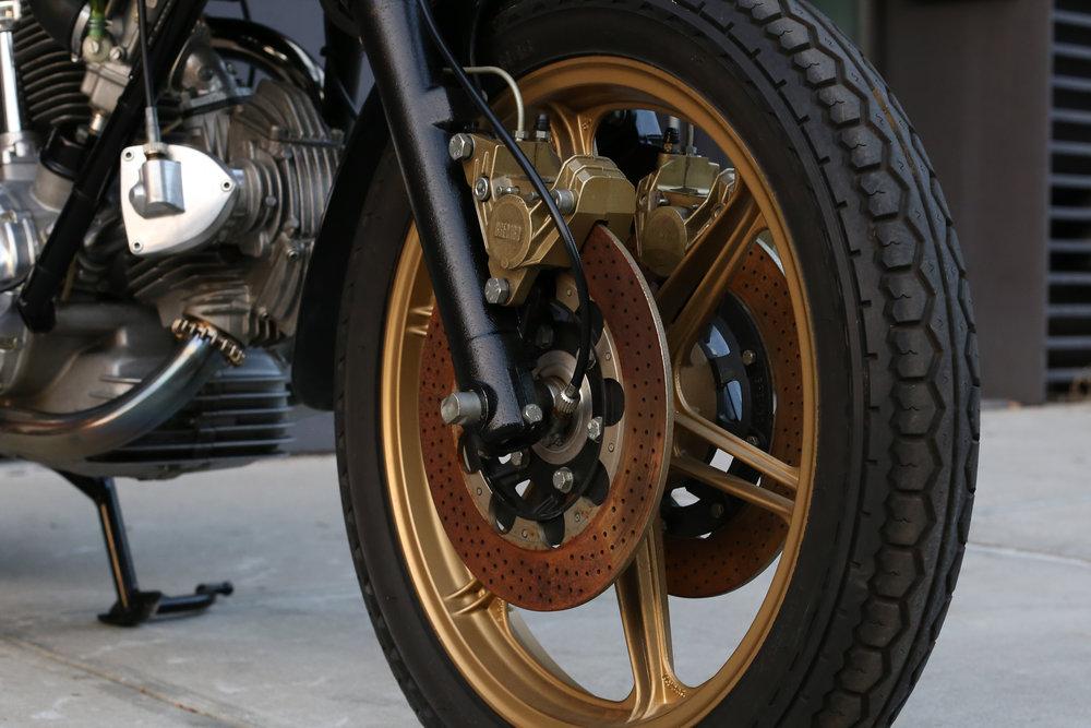 1981 Ducati 900SS original tires