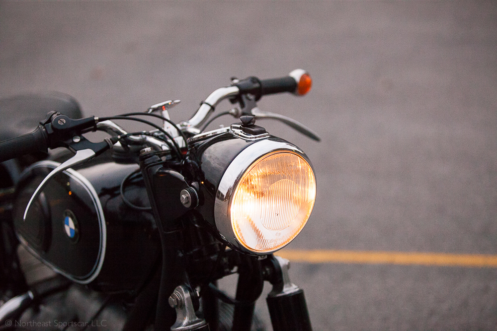 1964 BMW R60/2 headlight
