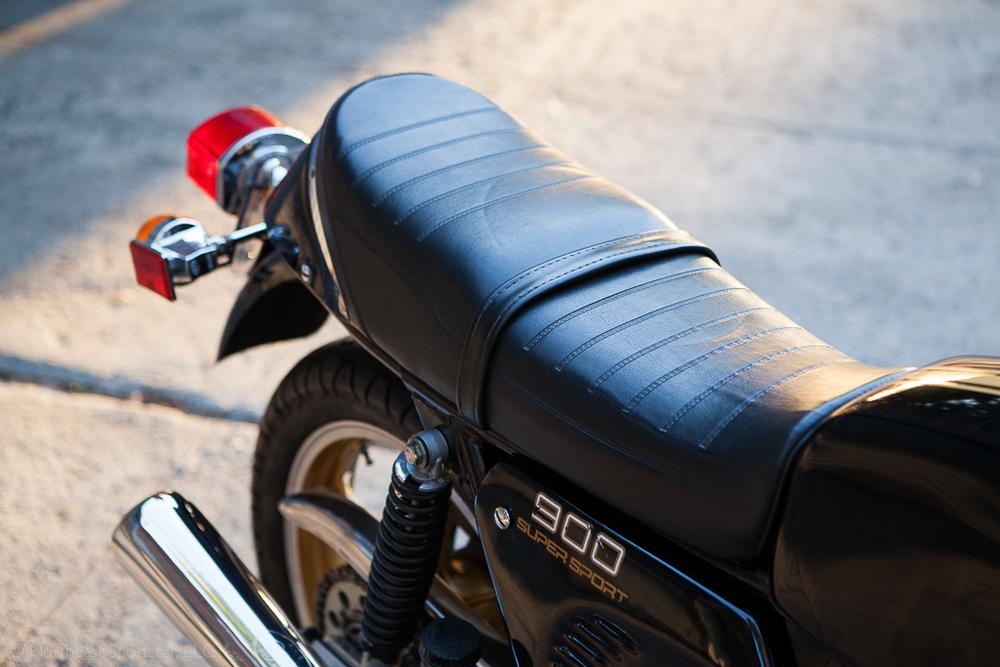 1980 Ducati 900SS tail