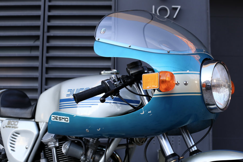 1977 Ducati 900SS bubble windshield