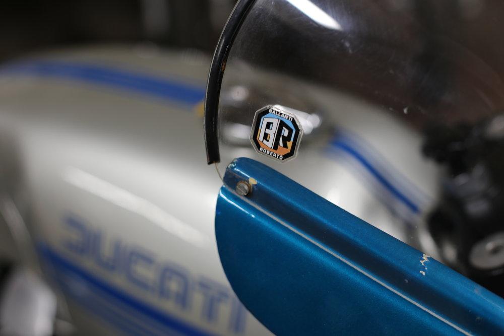 1977 Ducati 900SS Ballanti Roberto sticker