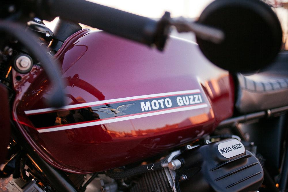 1977 Moto Guzzi lemans 1 custom tank