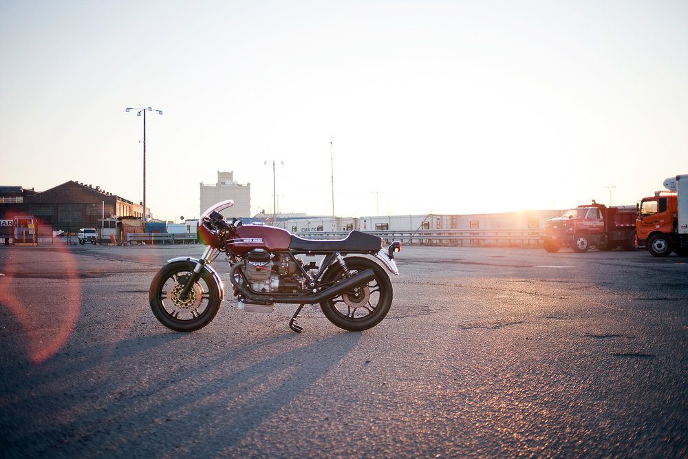 1977 Moto Guzzi lemans 1 custom