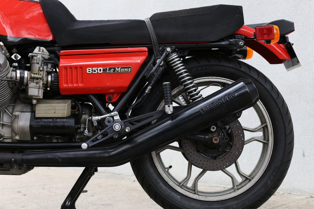 1978 Moto Guzzi Lemans 1 Exhaust