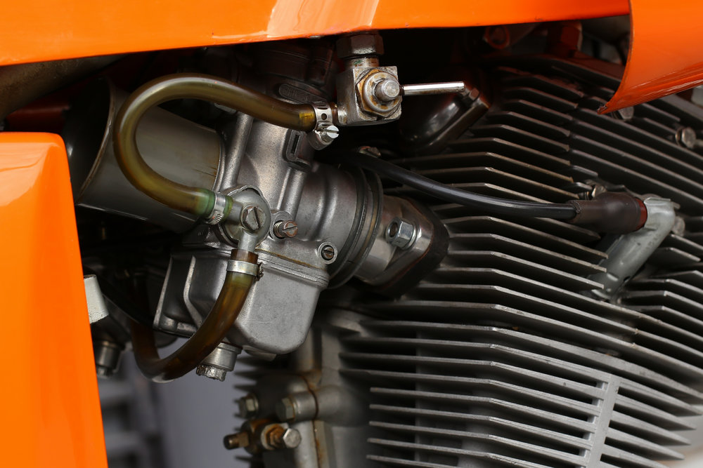 Laverda SFC carbs