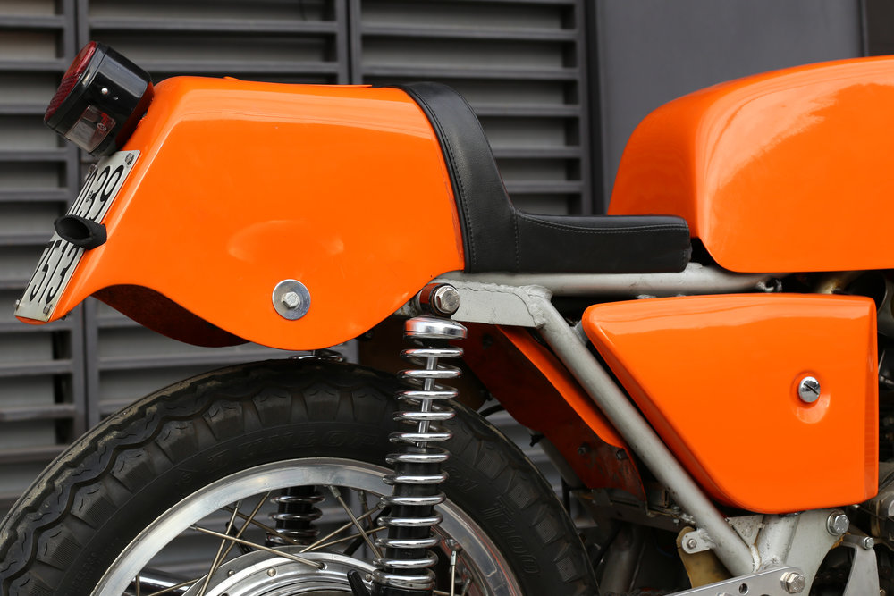Laverda SFC tail section