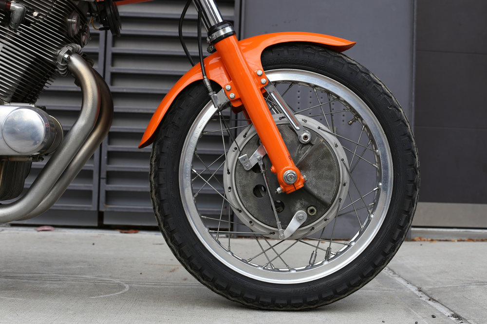 Laverda SFC front wheel