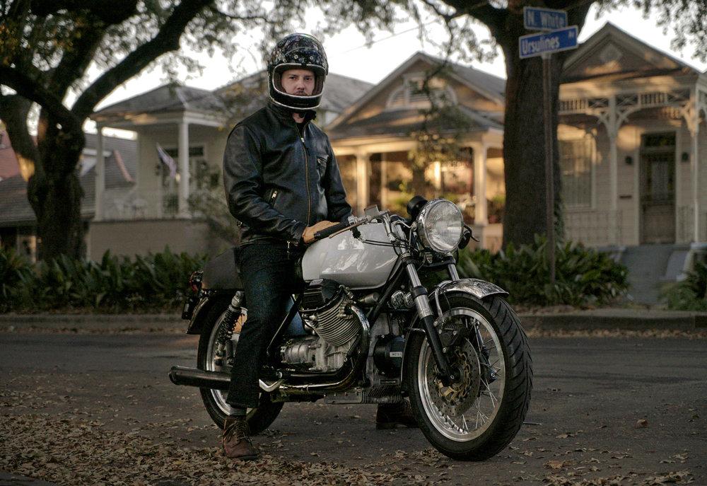 Moto Guzzi V7 SPort Custom motorcycle