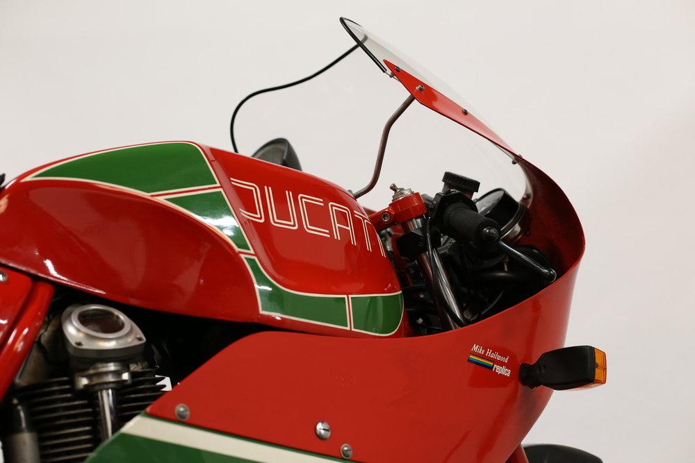 Ducati MHR Mike Hailwood Replica Moto Borgotaro