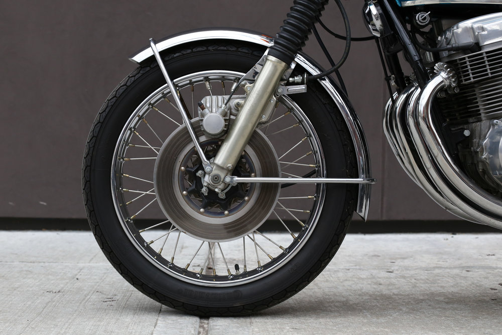 1969 Honda CB750 Sandcast front wheel disc brake