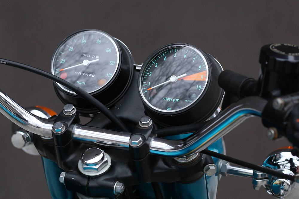 1969 Honda CB750 Sandcast dash