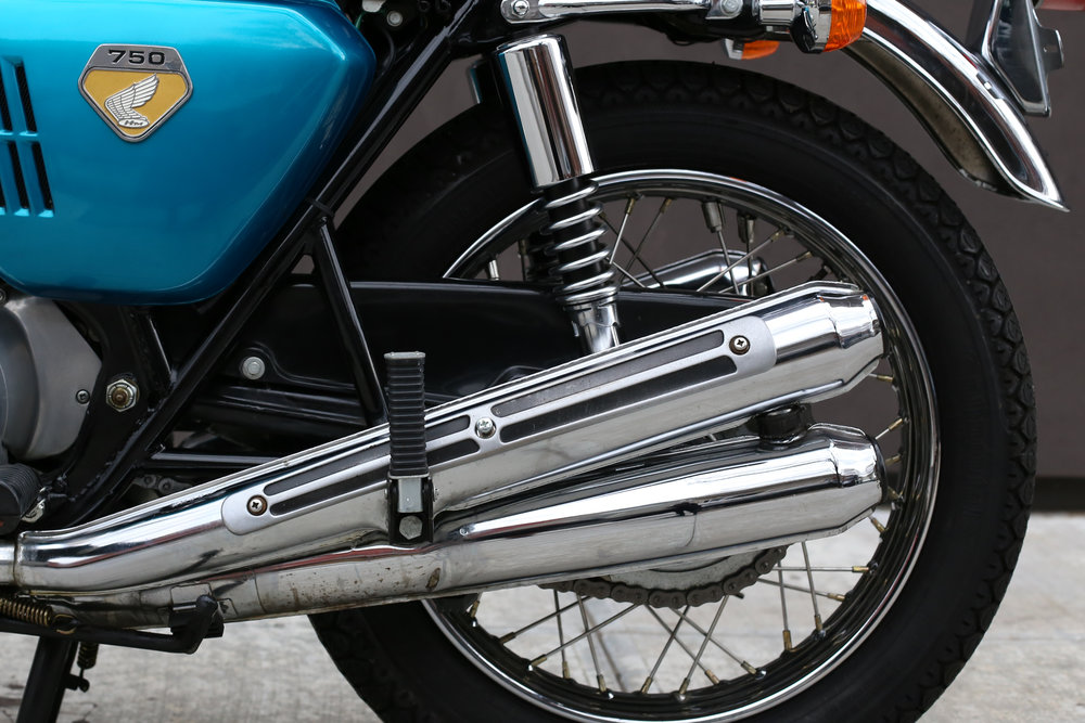 1969 Honda CB750 Sandcast rear shocks