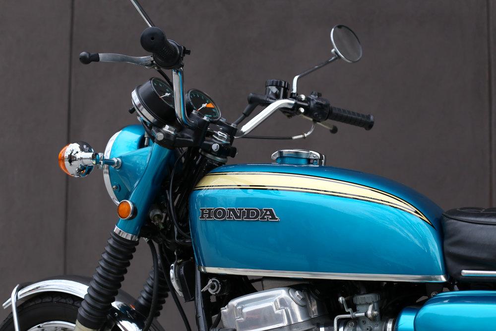 1969 Honda CB750 Sandcast tank