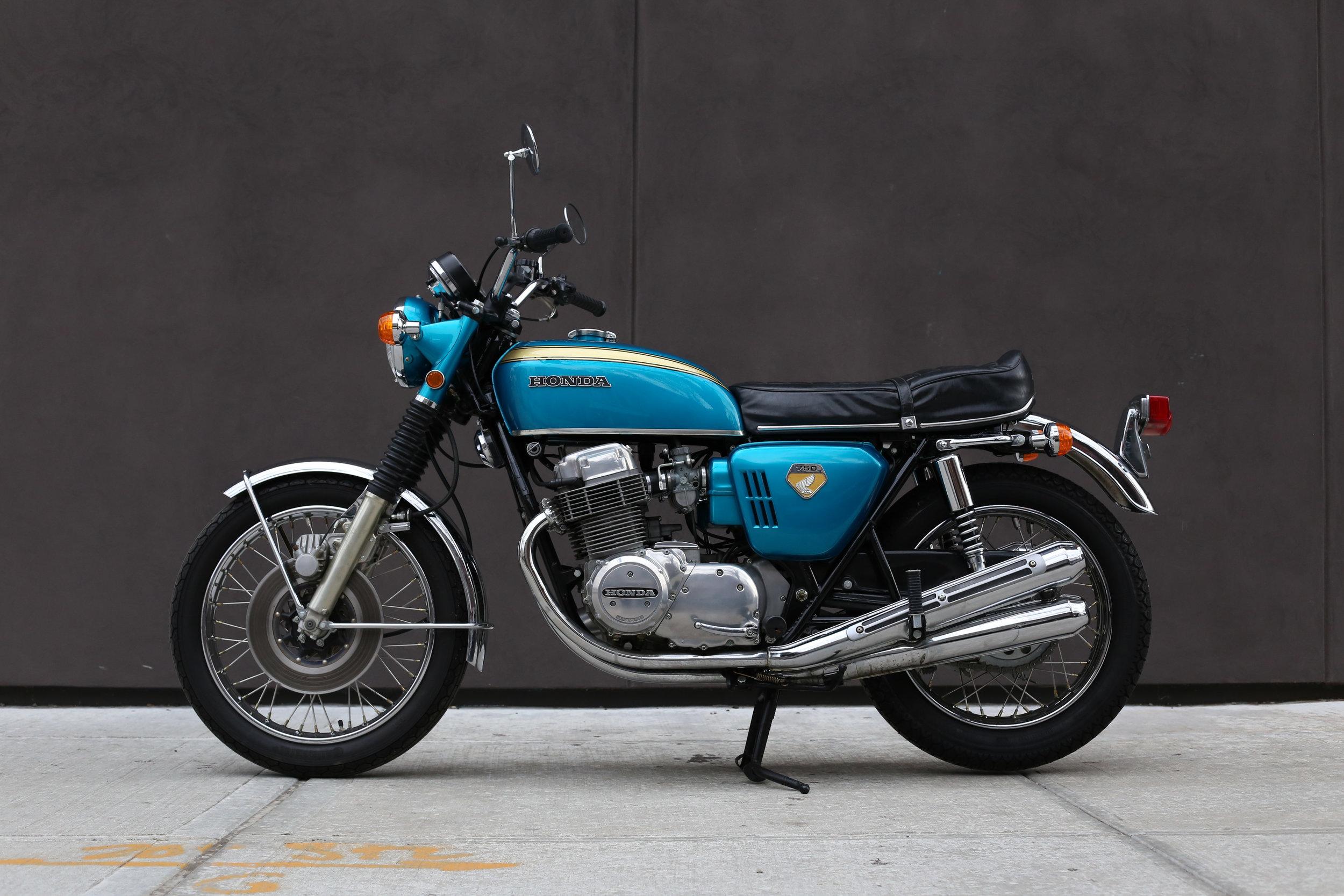 1969 Honda Cb 750 Sandcastsold Motorcycles