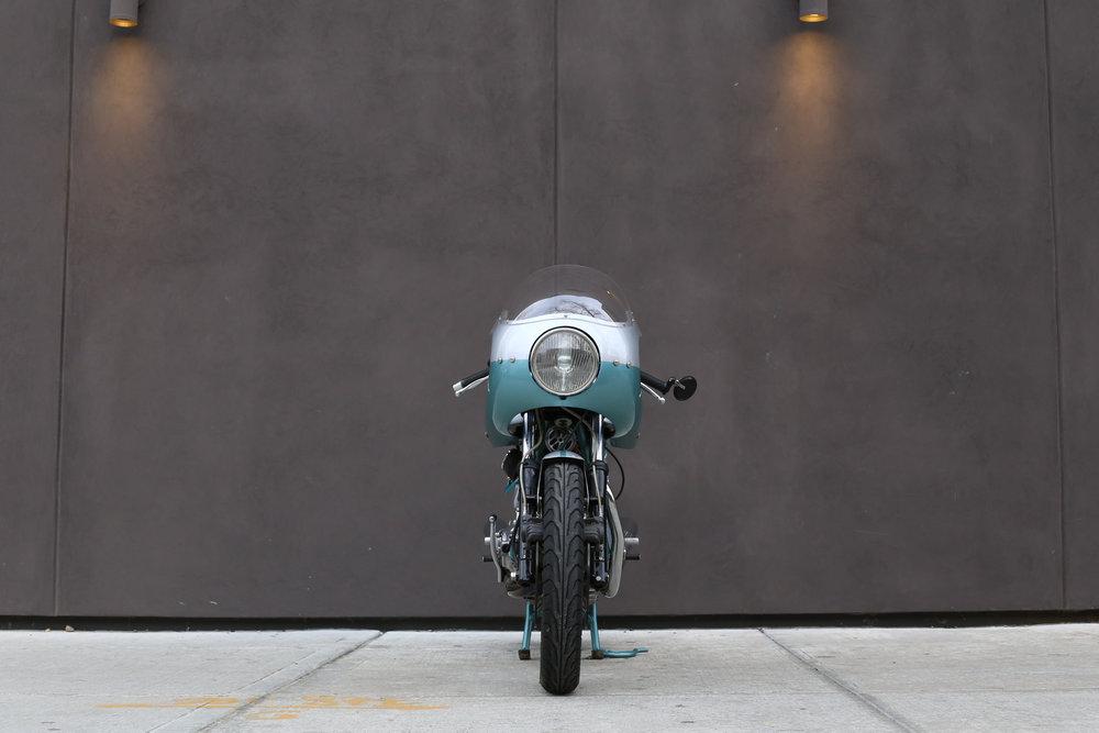 1974 Ducati 750SS green frame moto borgotaro headlight