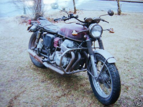 Original sand cast cb750 moto borgotaro