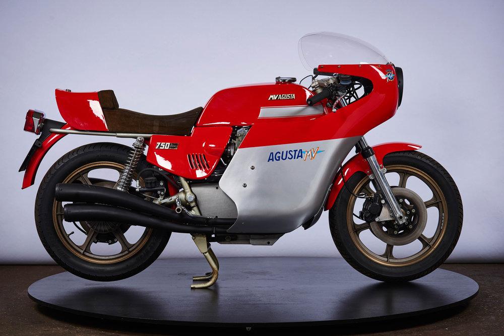 MV Agusta 750 America Moto Borgotaro