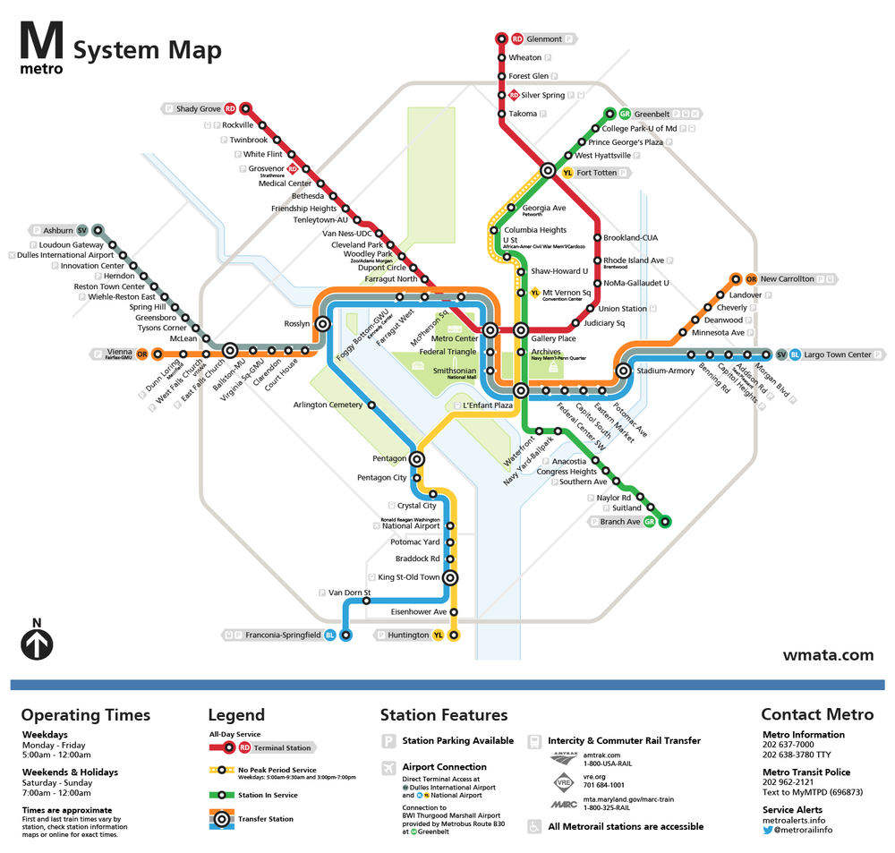 Transit Map Redesigns Transit Oriented Design