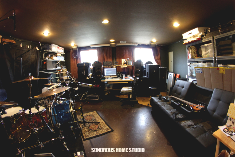 Located in SALEM, OREGON. MY FATHER AND I BUILT TOGETHER A RECORDING STUDIO CALLED  SONOROUS HOME STUDIO