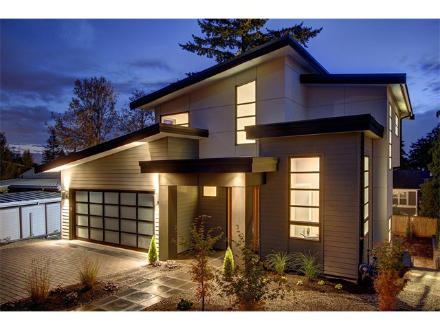 Purchased Mercer Island custom new construction home