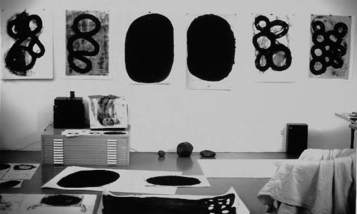 mark petersen studio, west oakland, california, 1995