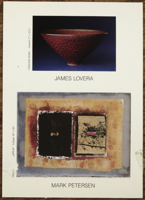 two person show with james lovera at running ridge gallery santa fe