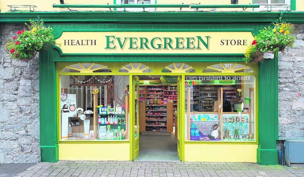 Evergreen Health Store - Mainguard Street, Galway