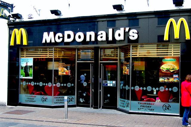 McDonald's - Shop Street, Galway