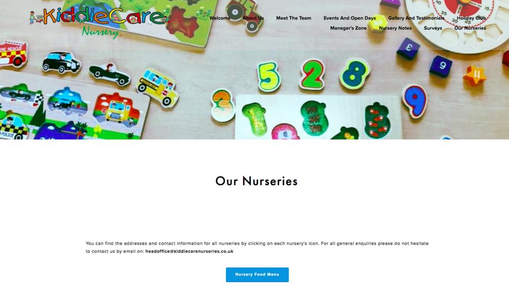 Kiddiecare Nurseries
