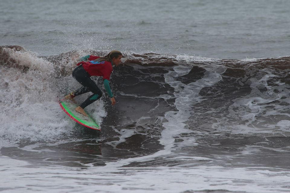 AM-JAM Shortboard Champion, Maria Barend