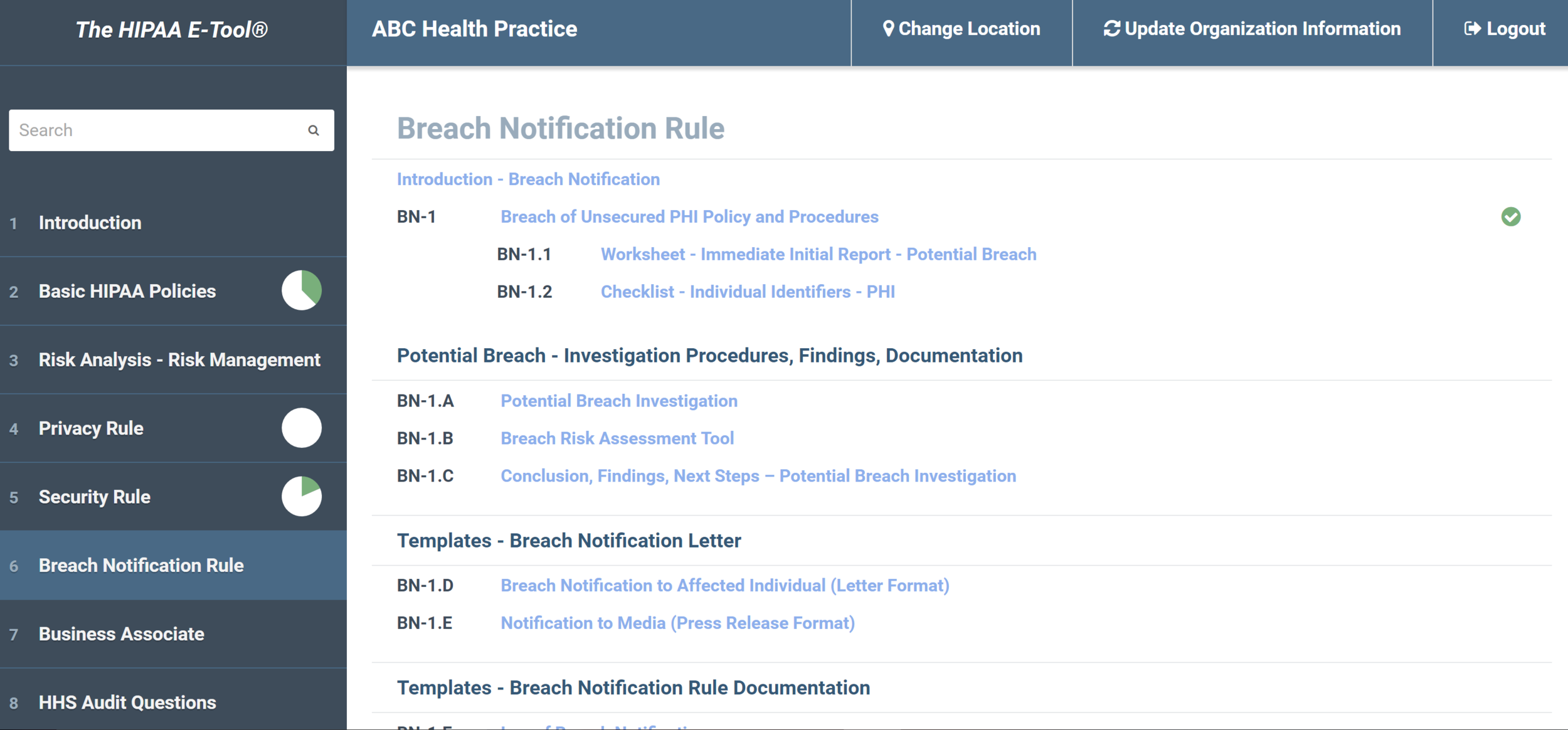 Step-by-step guidance of how to identify, investigate, and respond to a breach.