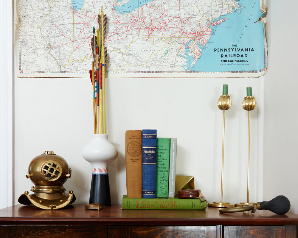 Michelle Gage // Havertown Oddities-filled Home Office
