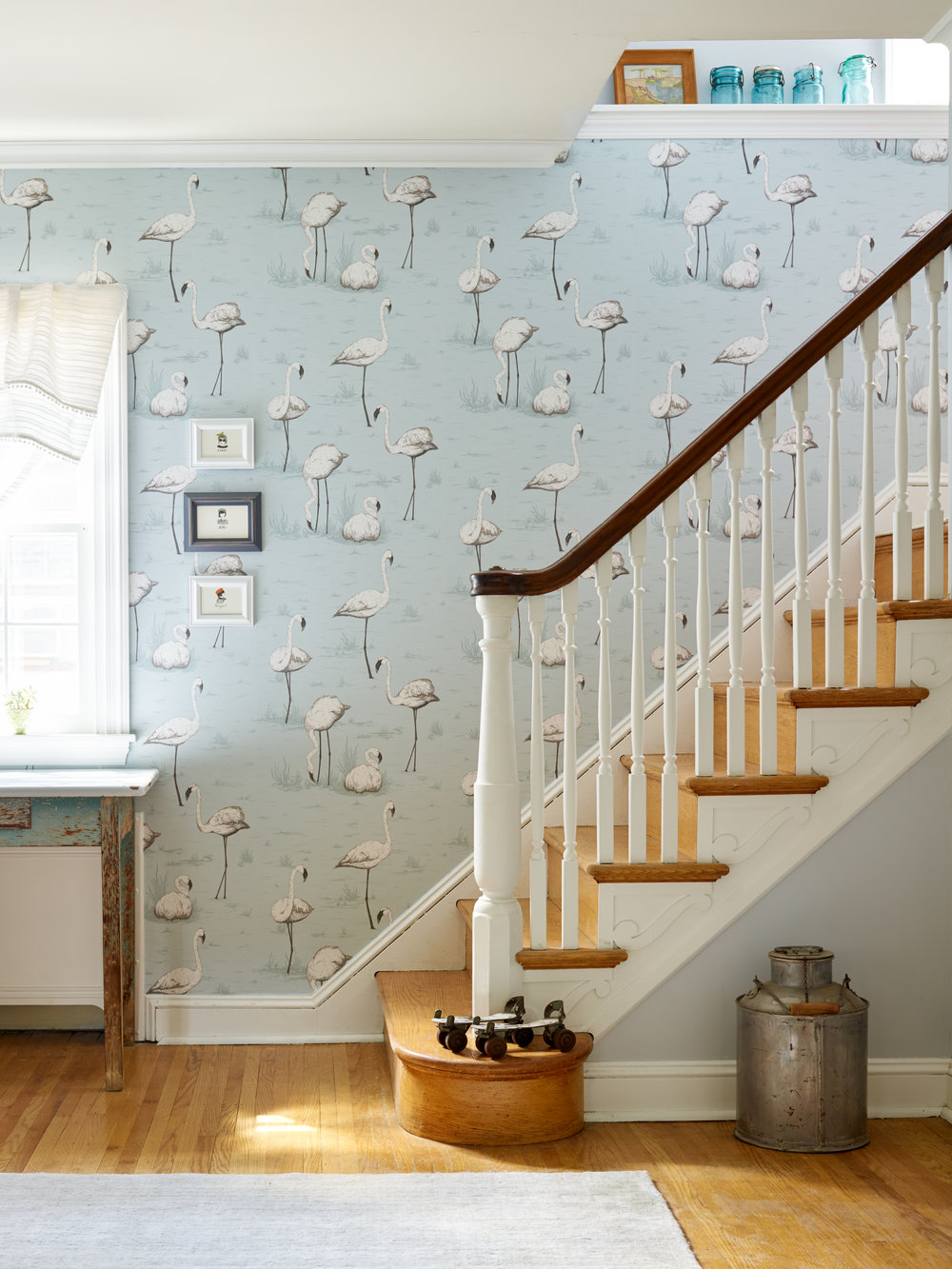 Michelle Gage // Design Ideas: Wallpapered Entry Ways