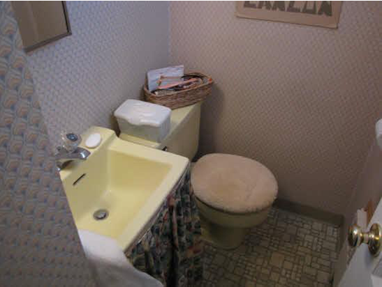 Michelle Gage // Before + After: My Powder Room